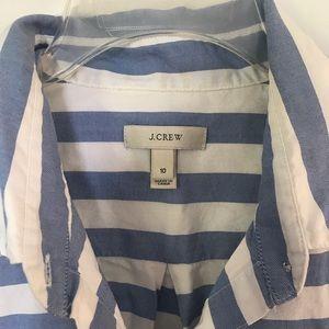 J. Crew Cotton Stripe Shirt